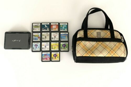 Nintendo DS Game Bundle/Lot Of 14 ~Includes (2) Carrying Case