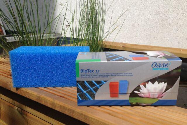 OASE  Original Ersatzfilter blau für Biotec 12 Filterschwamm Ersatzschwamm