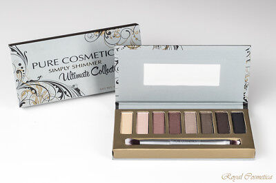 Pure Cosmetics Simply Shimmer Ultimate Collection Long-Wearing Eyeshadow Palette