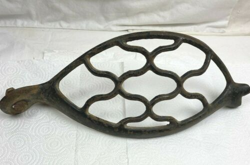 Antique Singer Treadle Sewing Machine Cast Iron Belt Guard