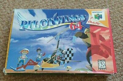 Pilotwings 64 Nintendo N64 NTSC (American) Boxed with Manual 1996