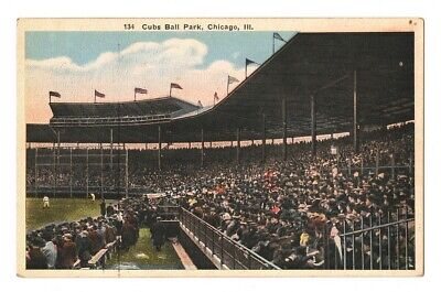 Cubs Ball Park Postcard - Chicago, Illinois IL