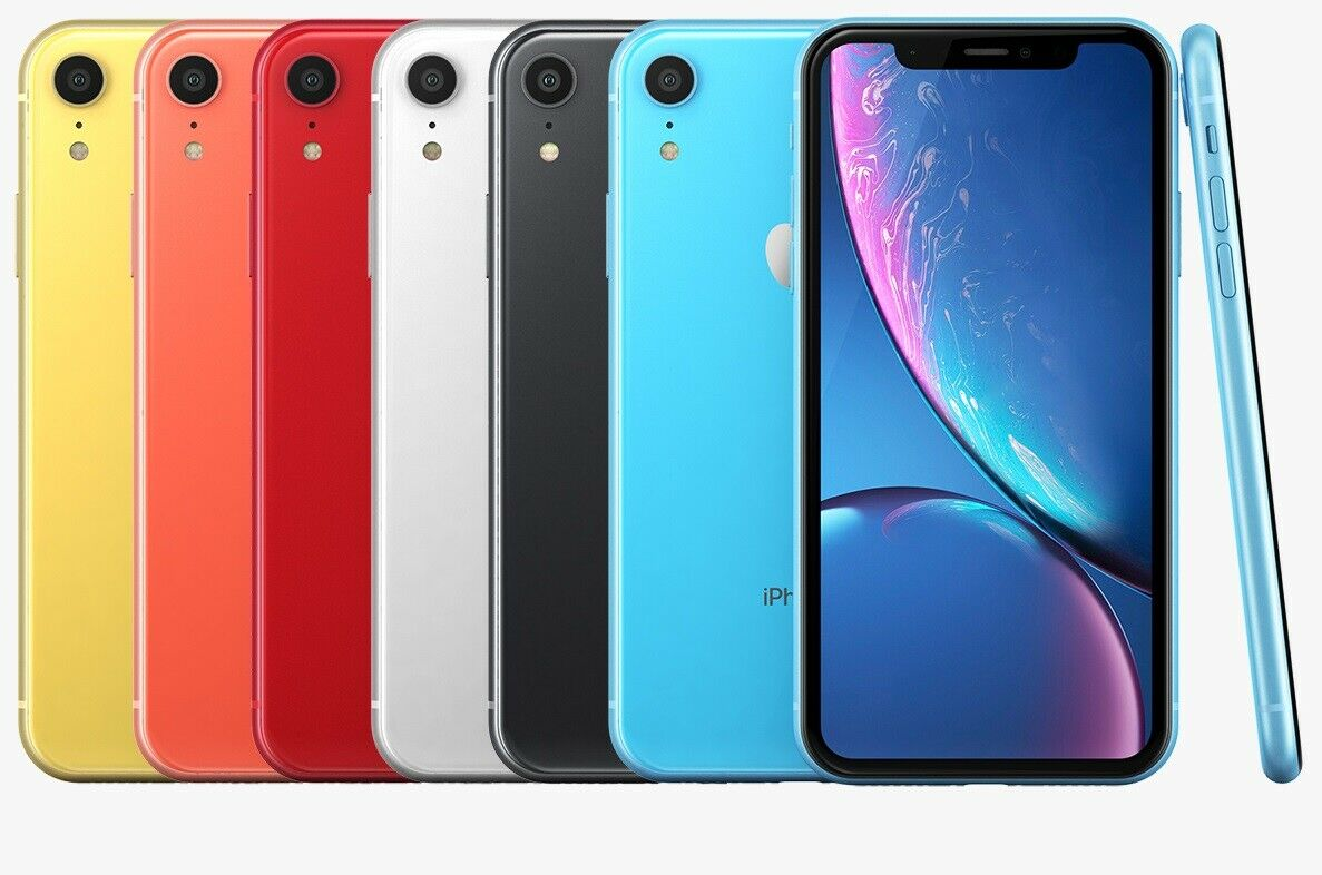 1 von 2 : Apple iPhone XR Smartphone   64GB 128GB   Unlocked Verizon AT&T Sprint T-Mobile • 269,41 €