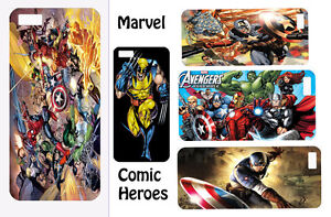 Marvel-Super-hero-hard-back-phone-case-for-Iphone-4-5-5c-6-HTC-ONE-M7