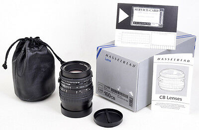 HASSELBLAD CB Tessar 4,8/160 T* COMPLETE & BOXED Wie NEU MINT condition A+/A !!!