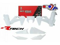 UFO Husqvarna Rear Enduro Fender CR 125 TE TX 250 310 2005-2007 White