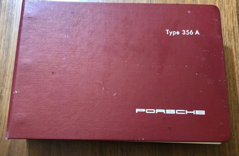 Original 1957 Porsche Type 356 A Catalog Of Spare Parts