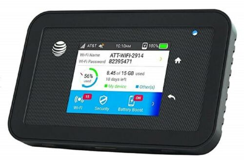 Netgear Unite Explore 815S 4G LTE Mobile Wifi Hotspot MiFi GSM AT&T New Other