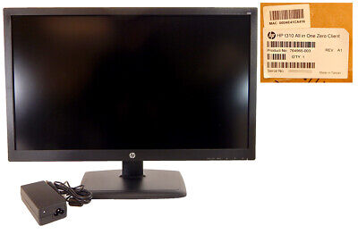 Used, HP t310 AIO Zero Client base Replacement Unit 764965-003 765599-001 Rev A1 for sale  Shipping to India