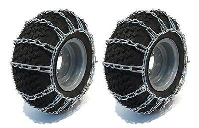 - PAIR 2 Link TIRE CHAINS 23x10.5x12 fits many Yamaha Rhino Viking Wolverine UTV