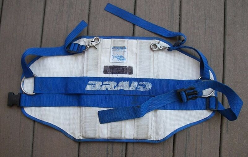 Braid Products Harness Fighting Belt Offshore Big Game Fishing