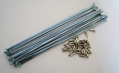 """BICYCLE 36-SPOKES 14G  X 194MM for 20"""" BIKES CRUISER LOWRIDER BMX MTB CYCLING"""