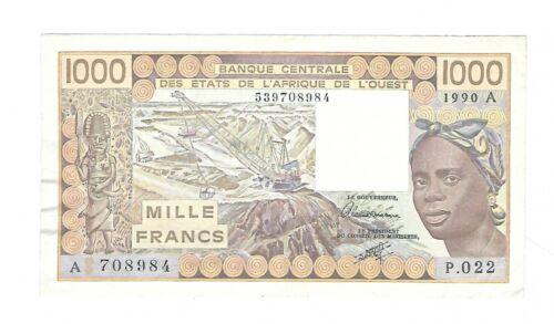 Ivory Coast - 1000 Francs