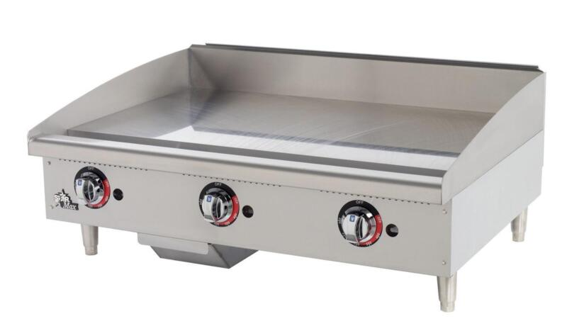 Star 636tf Star-max Countertop 36in Thermostatic Gas Griddle