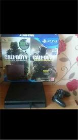 PS4 PlayStation 1tb model (new shape)
