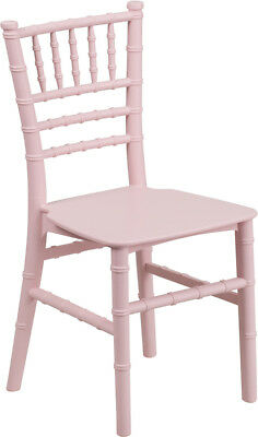Kids Pink Resin Chiavari Chair - Le-l-7k-pk-gg