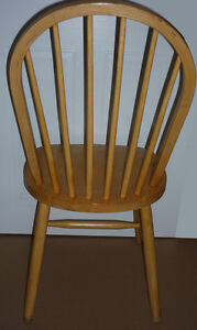 solid pine Colonial Wood Chair :Very Sturdy&Comfortabe:As shown Cambridge Kitchener Area image 2