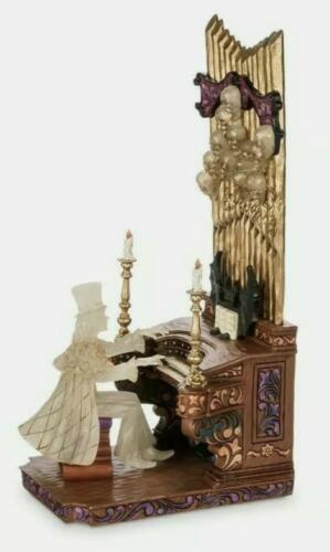 Disney Parks Haunted Mansion Organ Player II Jim Shore Glow in the Dark IN HAND