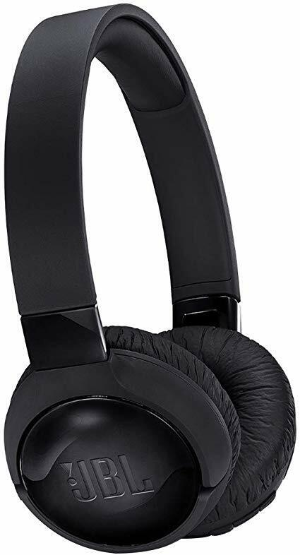 JBL Tune 600 BTNC Black OverEar Wireless Bluetooth Noise Cancelling Headphones