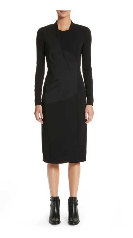 NWT $1395 BURBERRY Miriam Sheath Dress US 4 UK 6