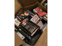 Box of approx 50 Videos and some DVD's