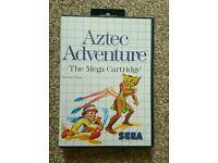 AZTEC ADVENTURES SEGA MASTER SYSTEM