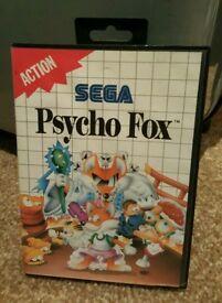 Psycho Fox Sega Master System Game