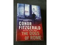 Brand new The Dogs of Rome book by Conor Fitzgerald