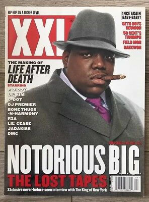XXL MAGAZINE  April 2003 Notorious BIG Biggie Rare Out Of Print