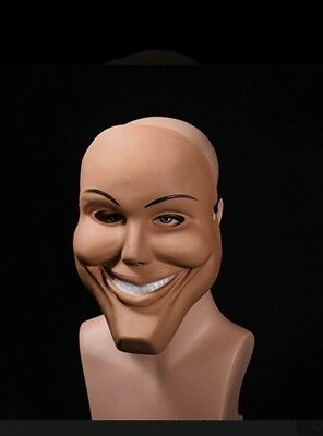 The Purge Smile Mask (The Purge Mask Movie Smiling Halloween Anarchy Election Year Friday 13th)