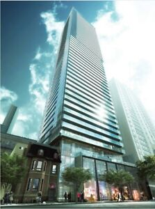 TWO YRs Old 1 Bdrm Condo W/Locker For Rent @Yonge&College