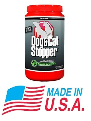 Messina Natural Granular Dog Cat Stopper Pet Safe Repellent 2.5lb Shaker Bottle