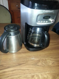 Cuisinart coffee maker.