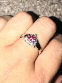 Ladies ring size P