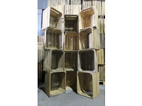 Apple Crates - Any Qty - PREMIUM GRADE - Trusted Kent Supplier - Collect or Next Day DPD Delivery