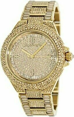 Michael Kors  MK5720 Camille Swarovski Crystal Pave Dial Gold Tone Women's Watch