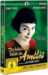 Die fabelhafte Welt der Amélie ** Jubiläumsedition ** NEUWARE 2 DVD's !!
