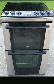Zanussi 55cm full electric cooker. Can deliver
