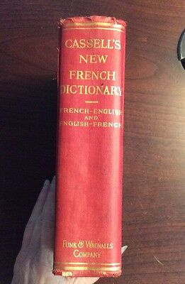 A New French And English Dictionary 1903 Hardcover J Boielle Preownedbook Com