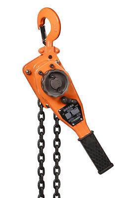 Magna Manual Lever Chain Hoists - 1/4, 3/4, 1 1/2, 3, or 6 Ton Capacity (1/2 Ton Manual)