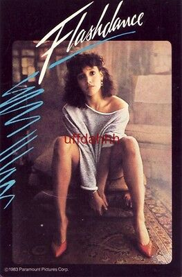 "JENNIFER BEALS ""FLASHDANCE"" WHAT A FEELING, WHAT A PRICE! $39.95 VIDEOCASSETTE"