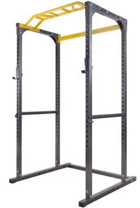 Squat rack and 300lbs of weights