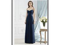 Navy prom dress/bridesmaid dress