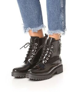 Kendall + Kylie combat boots