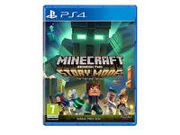 Minecraft story mode season 2 pass disc PS4 brand new