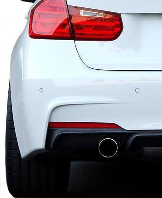 Genuine BMW 3-Series F30 F31 M Sport Rear Left Bumper Reflector Red OEM 2012+