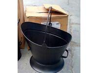 Waterloo coal bucket, brand new.
