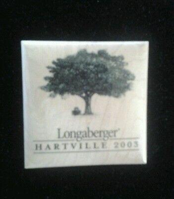 LONGABERGER HARTVILLE 2003 PIN