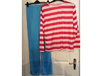 Where's Waldo Classic Adult Costume