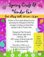 Brampton Fair's Spring Craft Show